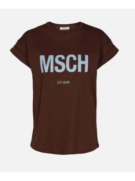 Moss Copenhagen Alva MSCH T-Skjorte Brun/blå