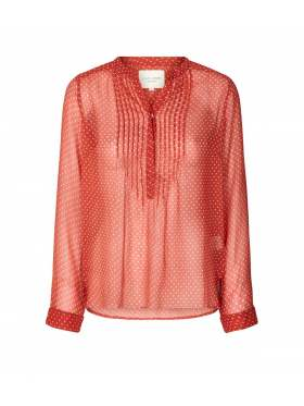 Lollys Laundry Helena Bluse Rust