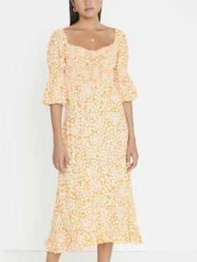 Faithfull Nora Midi Dress