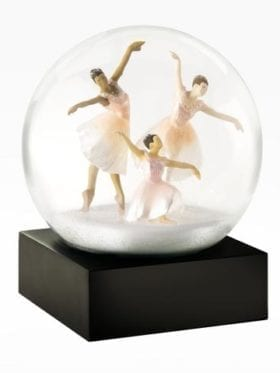 CoolSnowGlobes Three Dancers Snow Globe