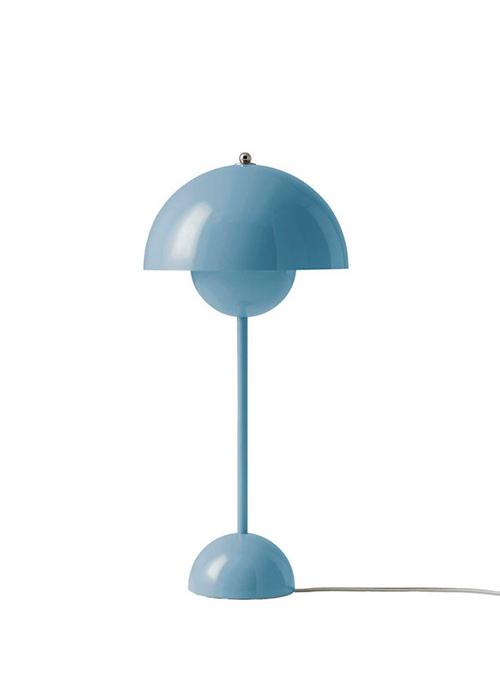 & Tradition Flowerpot VP3 Bordlampe Lys Blå