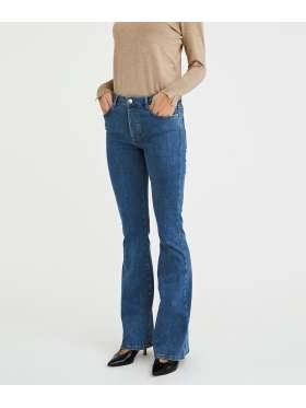FIVEUNITS Naomi Mid Blue Jeans