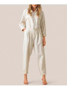 Second Female Selene Jumpsuit Offwhite