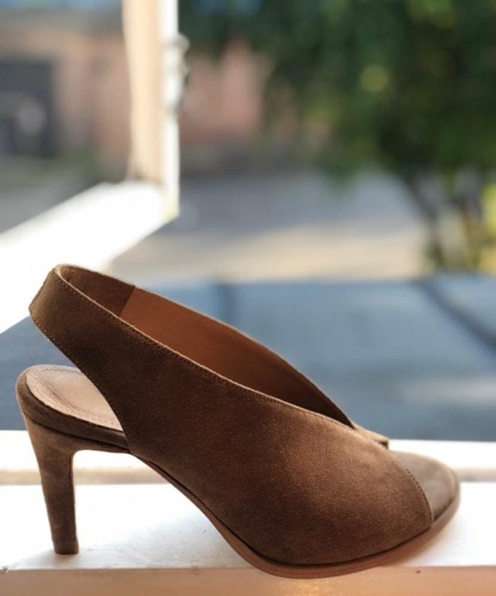 Pavement Limon Pumps Taupe Suede