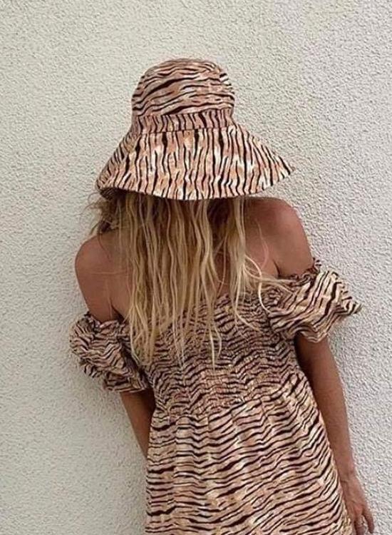 Faithfull Frederikke Sun Hat Animal