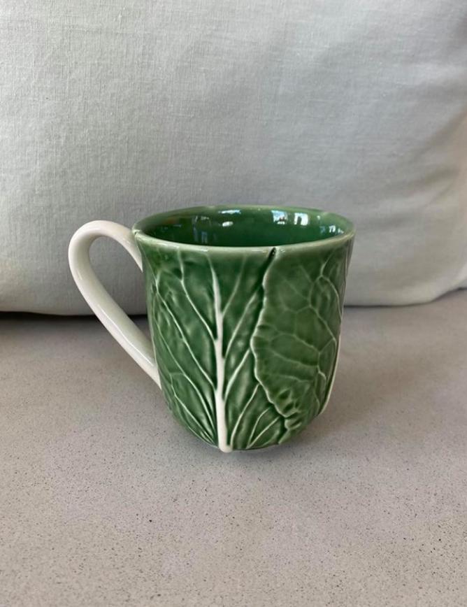 Bordallo Pinheiro Leaf Krus Grønn