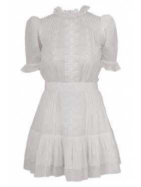 Pia Tjelta Amelia Dress Hvit
