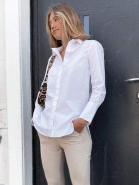Second Female Larkin LS Classic Skjorte Hvit