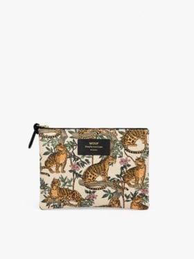 Wouf Lazy Jungle Large Clutch