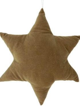 Ib Laursen Stjerne Pute Sennepsgul