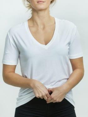 INK Brandy T-skjorte Hvit