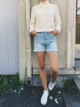 FIVEUNITS Abby Shorts Jeans