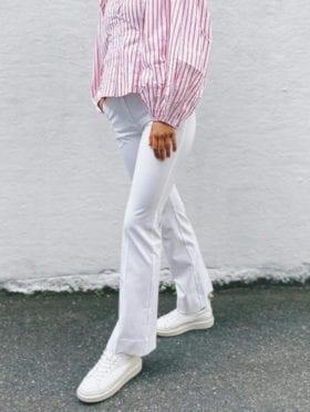 FIVEUNITS Clara Long Bukse Hvit