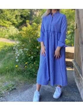 byIDA Milla Dress Blåvit