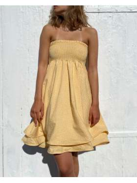 byIDA Sunny Dress Yellow