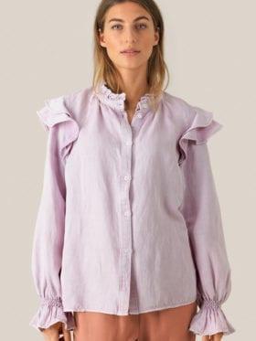 Second Female Bella LS Skjorte  Lavendel