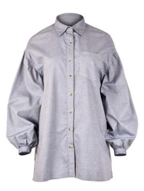 iis Woodling Tonje Skjorte Denim
