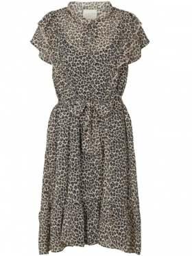 Lollys Laundry Anemone Kjole Leopard