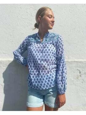 Anouska Love Shack Cordoba Bluse Blå