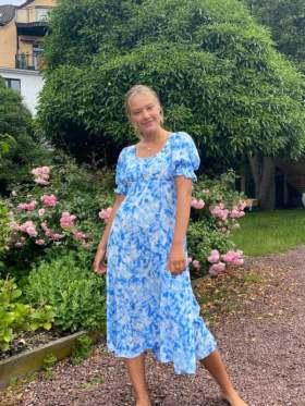 Faithfull Linnie Midi Kjole Blå