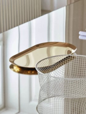 HAY Tray Gold Large