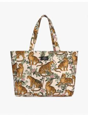 Wouf Lazy Jungle Large Tote Bag