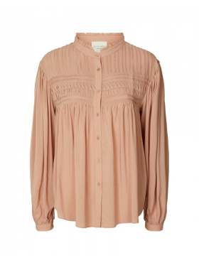 Lollys Laundry Cara Bluse Dusty Rose