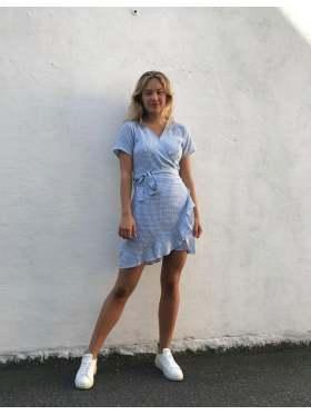 BYIC Zoey Kjole Blue Checks