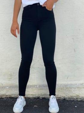 FIVEUNITS Kate High Jeans Sort