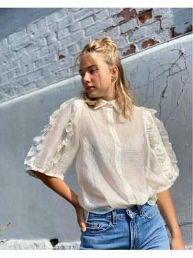 Stella Nova Lycie Skjorte Creamy White