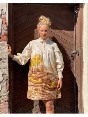 Second Female Home Dress Marzipan