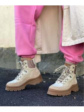 Läst Downhill Boots Beige