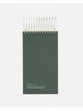 House Doctor Notatblokk Mørkegrønn