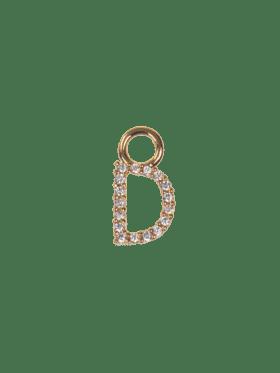 Emilia By Bon Dep Letter charm D