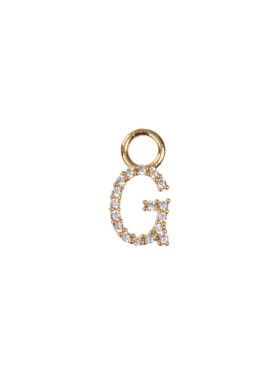 Emilia By Bon Dep Letter charm G