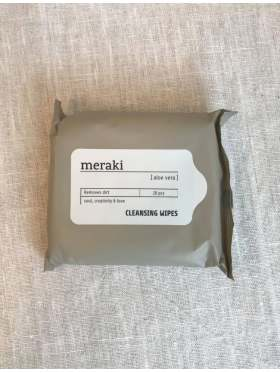 Meraki Cleansing Wipes Aloe Vera