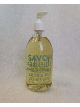 Compagnie de Provence Såpe Glassflaske Amande Douce