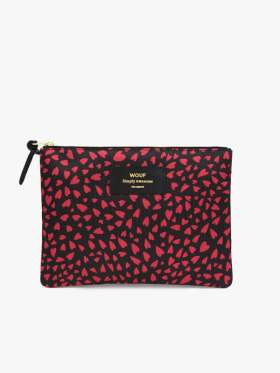 Wouf Hearts Large Clutch