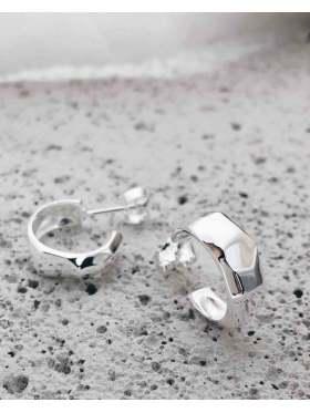 Hasla Elements Metzinger Hoops Sølv