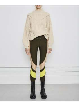 NOTES du Nord Regina Tights Olivengrønn