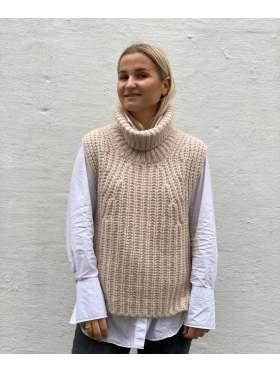 Second Female Ivory Knit Vest Sand