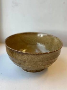HK Living Japanese Keramikk Skål Brun