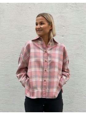 Arnie Says Campbell Plaids Skjorte Pink Combo