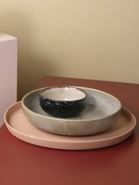 HK Living Keramikk Tallerken Grønn