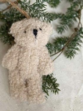 Shishi Julepynt Teddy Bjørn Beige